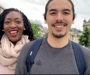 Les deux étudiants ont lancé leur start-up en 2019.