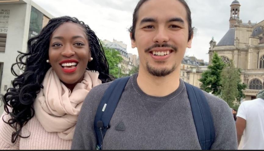 Les deux étudiants ont lancé leur start-up en 2019. //©Photo fournie par le témoin