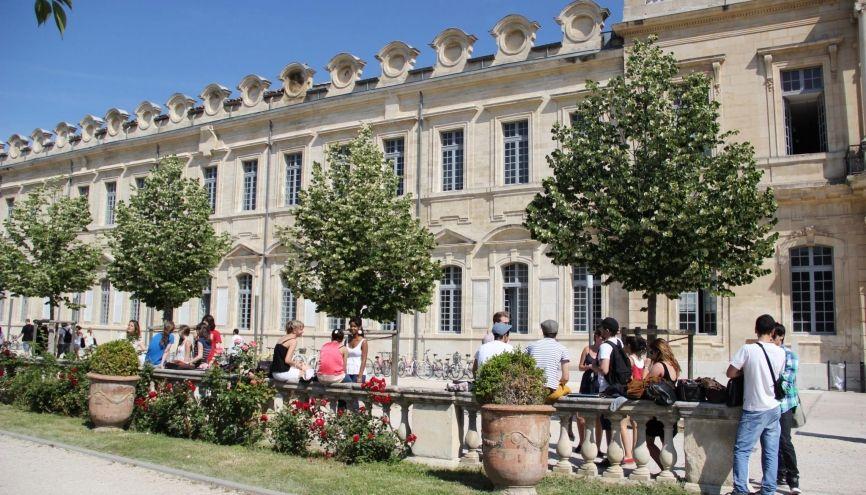 Université d'Avignon. //©Camille Stromboni