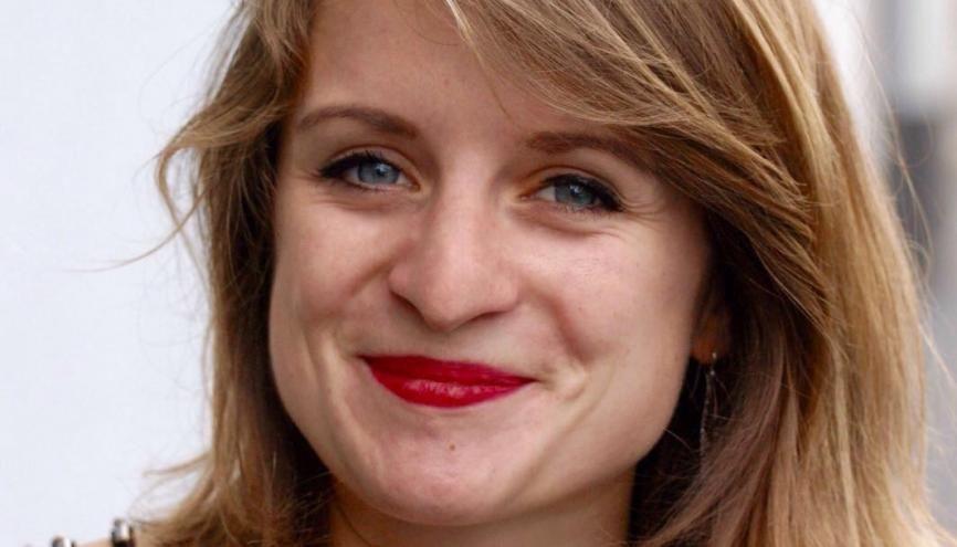 Lilâ Le Bas, présidente de l'UNEF //©Lilâ Le Bas