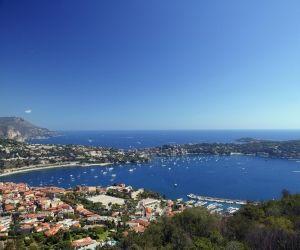 La baie de Villefranche, à Nice.