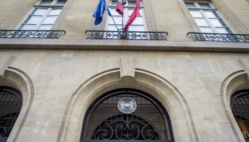 L'institution de la rue Saint-Guillaume choisira dorénavant les candidats à l'ensemble de ses masters sur dossier. //©Gilles Rolle/REA