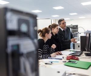 Le master d'ingénierie nucléaire de l'université Grenoble-Alpes assure de bons taux d'insertion professionnelle à ses jeunes diplômés. L'année dernière, 91 % de la promotion sortante était en poste moins d'un an après la fin de leurs études.