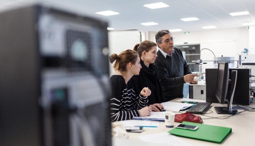 Le master d'ingénierie nucléaire de l'université Grenoble-Alpes assure de bons taux d'insertion professionnelle à ses jeunes diplômés. L'année dernière, 91 % de la promotion sortante était en poste moins d'un an après la fin de leurs études. //©Pablo Chignard/Hans-Lucas pour l'Etudiant