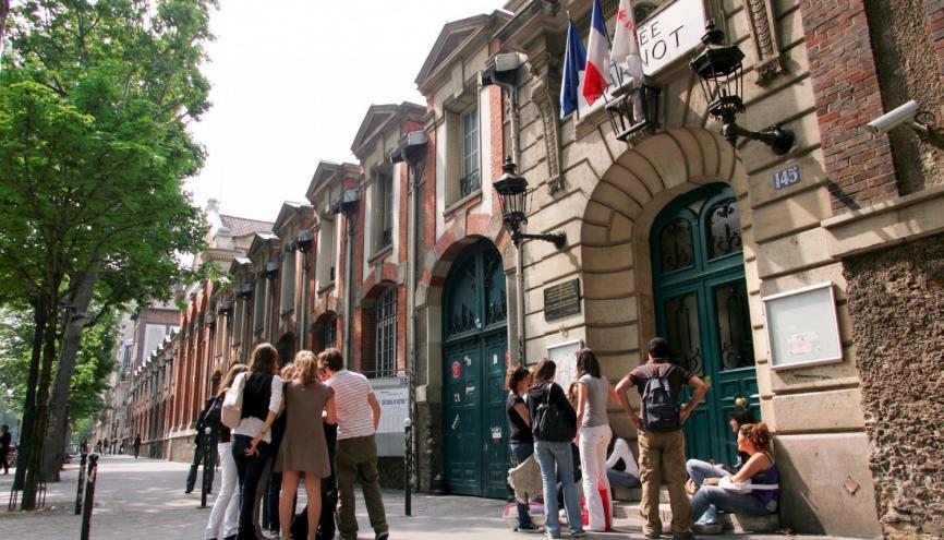 Au lycée Carnot, à Paris, les élèves passent le bac mais gardent Parcoursup en tête. //©©Nicolas TAVERNIER/REA