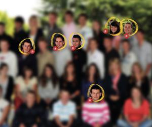 Les élèves de terminale STAV de l'année 2013-2014 du lycée agricole Le Chesnoy, à Amilly (45).