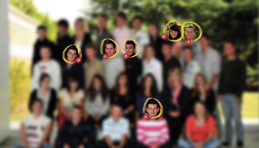 Les élèves de terminale STAV de l'année 2013-2014 du lycée agricole Le Chesnoy, à Amilly (45). //©Photo fournie par le témoin