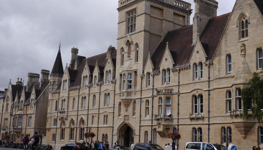 Welcome to Oxford ! La prestigieuse université anglaise n'est pas inaccessible pour les Frenchies. //©Eva Mignot