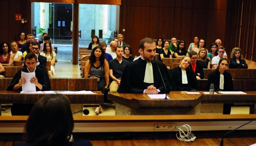 Un procès fictif, en conditions réelles, organisé par les étudiants qui participent à cette clinique internationale du droit. //©UCLY