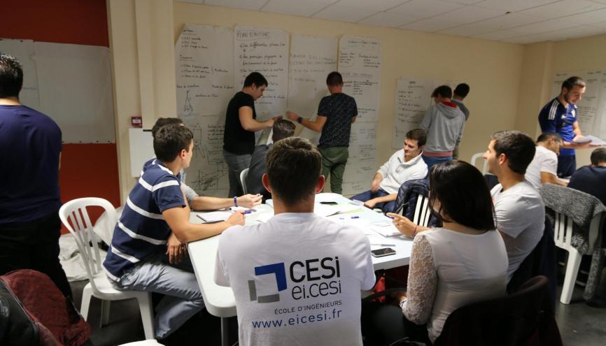 L'EI.CESI accueille 100 % de ses élèves via les admissions parallèles. //©EI.CESI