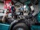 Jeunes en apprentissage ou en alternance au sein du pôle de formation transport-logistique AFTRAL. //©Guillaume Roujas/AFTRAL
