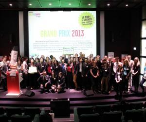 """L'équipe de """"Green Eye"""" remporte le Challenge Green TIC Campus 2013."""