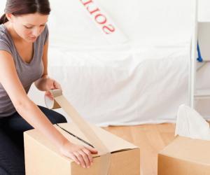 Un déménagement (location d'un camion, cartons...) peut vite coûter une centaine d'euros.