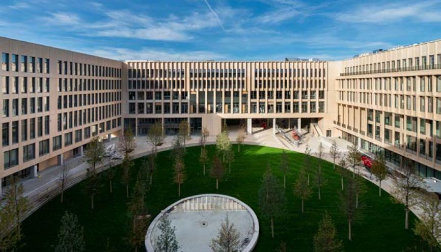 Les nouveaux locaux de Télécom Paris à Palaiseau accueillent depuis fin octobre les étudiants. //©TelecomParis