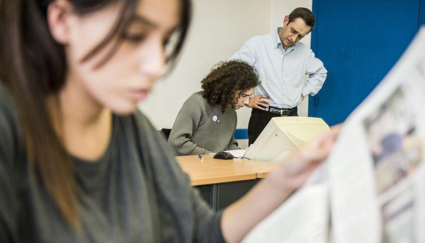 Grâce au programme d'études intégrées, c'est quelque 800 lycéens d'origine modeste qui ont, chaque année, la possibilité de préparer le concours. Et, pour 100 d'entre eux, de le réussir. //©Éric Garault pour L'Étudiant