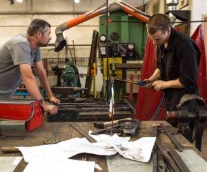 CAP ferronnerie au Lycée des métiers d'art Pasteur, à Nice.