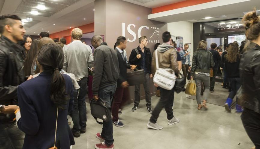 L'ISC Paris est au 18e rang du classement SIGEM. //©RP Ribiere/Agence 1835