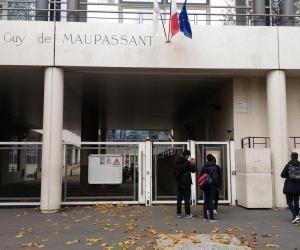 Le lycée Guy-de-Maupassant, à Colombes (92), est menacé de perdre son classement en éducation prioritaire.