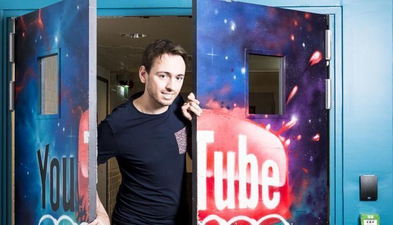 Arnaud a été embauché à 23 ans chez Google, pour travailler sur YouTube.