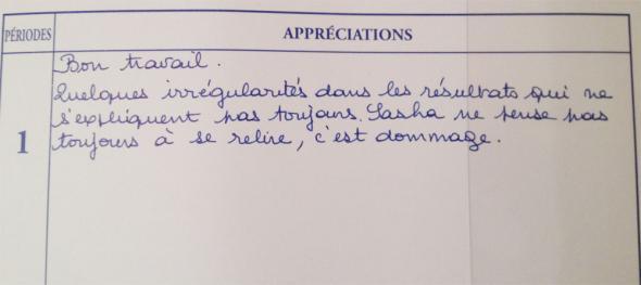 conseils de classe   comment vos profs remplissent vos bulletins de notes - letudiant fr