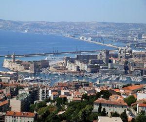 L'entrée du Vieux-Port, à Marseille.