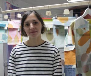 Audrey a remporté un concours de design pour la grande distribution