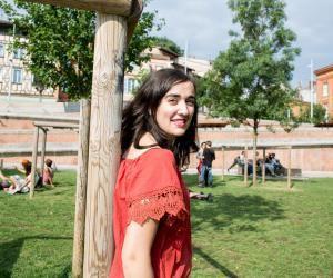 Marine, 23 ans, en cinquième année à l'INSA Toulouse.
