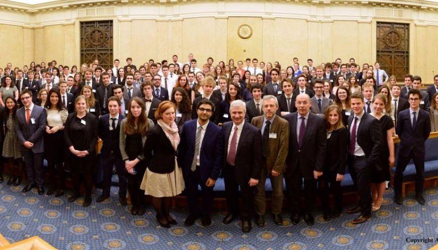 Ces élèves de Sciences po imitent les députés avec le Parlement des Étudiants //©Assemblée nationale