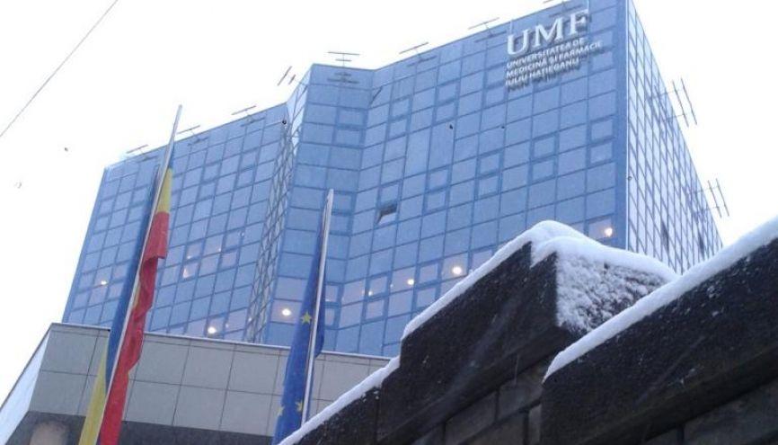 L'université de médecine et de pharmacie de Cluj-Napoca, en Roumanie. //©Charlie Dupiot