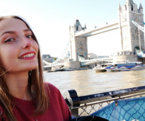 Lolita, 20 ans, effectue sa troisième année de langues et cultures étrangères en anglais à Londres.