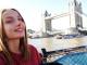Lolita, 20 ans, effectue sa troisième année de langues et cultures étrangères en anglais à Londres. //©Photo fournie par le témoin