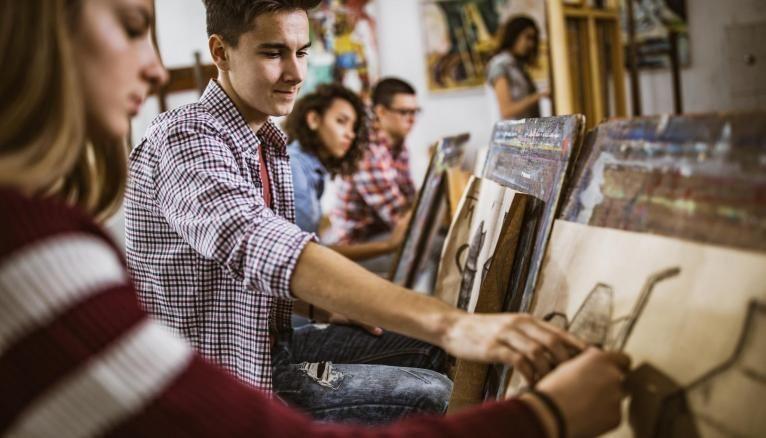En école d'art ou d'architecture, les candidats sont triés sur le volet.