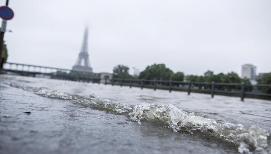 Paris inondé : des examens tomberont-ils à l'eau ? //©Denis Allard/REA