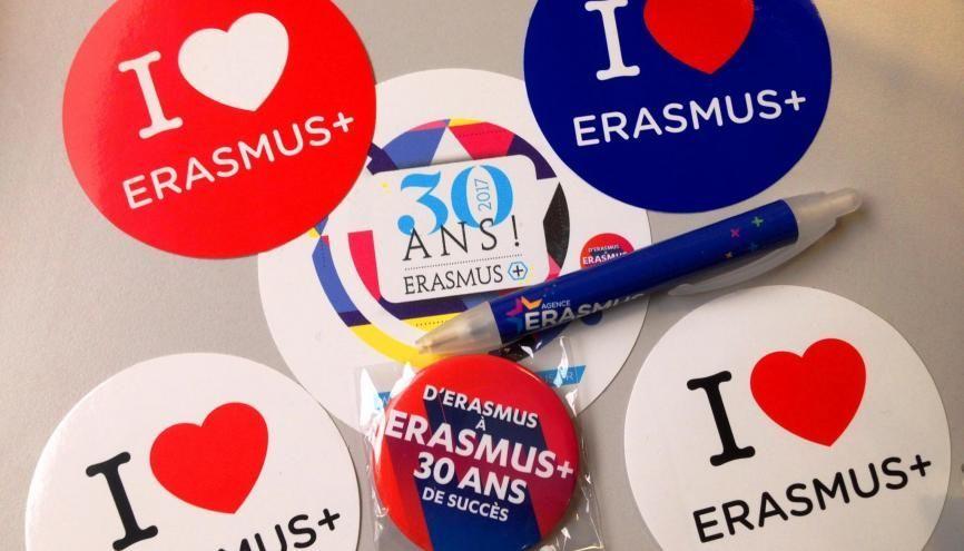Bonne nouvelle : le budget d'Erasmus+ est en hausse pour 2018. //©Etienne Gless