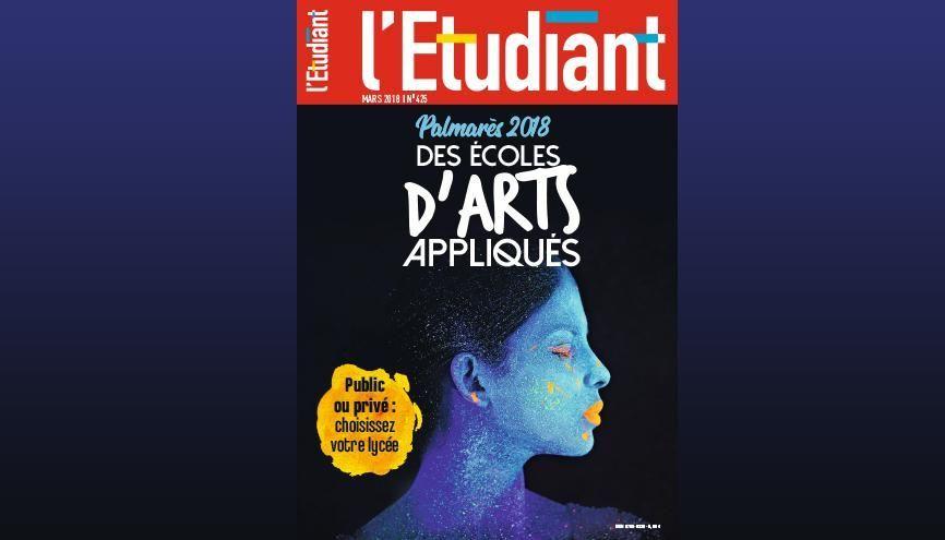 Mensuel l'Etudiant - Mars 2018 n°425 //©l'Etudiant