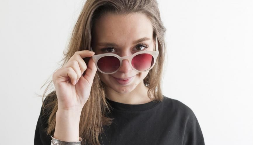 """Clarisse voit dans le cinéma un secteur où exprimer sa fibre artistique et son goût pour le """"faire"""". //©Valentine Vermeil pour l'Etudiant"""