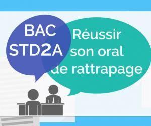 Bac STD2A - Oral de rattrapage