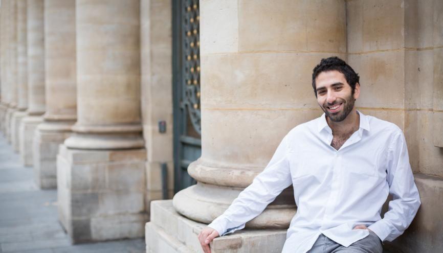 À 27 ans, Yohan a pour objectif d'écrire une thèse. //©Julie Balagué pour l'Étudiant