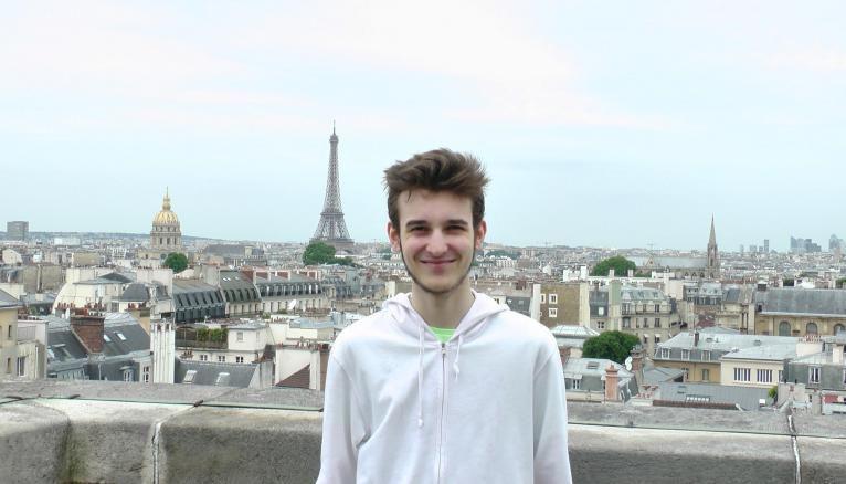 """Tristan : """"Je suis fixé sur mon choix d'orientation dans le domaine informatique et je commence un DUT informatique""""."""