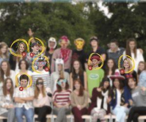Les élèves de terminale ES année 2013-2014 du lycée des Graves, à Gradignan (33).