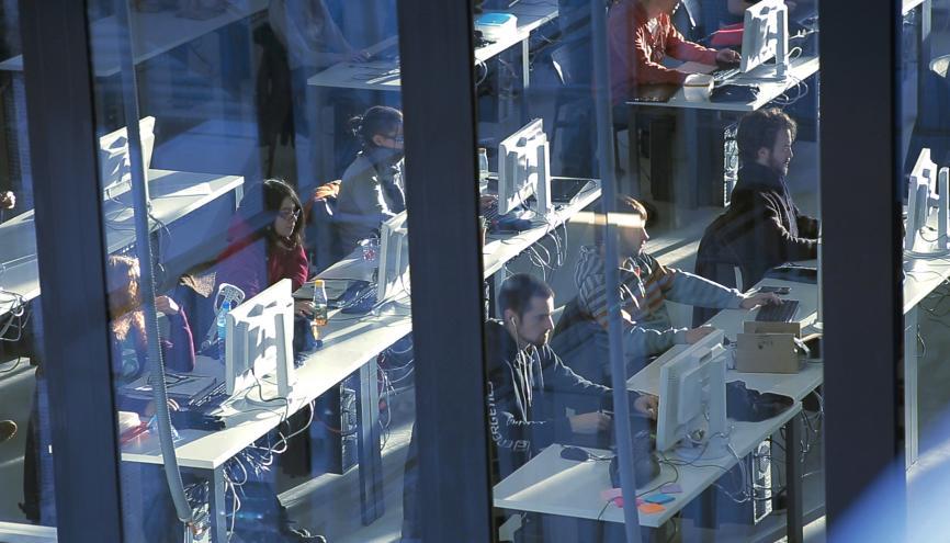 À Valenciennes, Rubika a emménagé au sein de la Serre numérique, une pépinière d'entreprises. //©Rubika