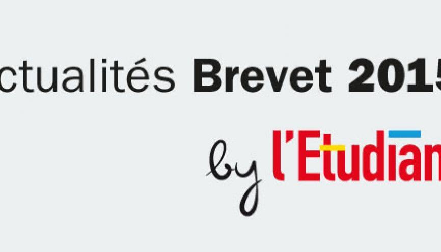 Actu Brevet 2015 //©letudiant.fr