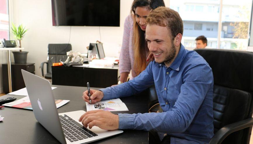 L'université peut vous accorder le statut d'étudiant-entrepreneur si vous créez votre entreprise tout en poursuivant vos études. //©ISC