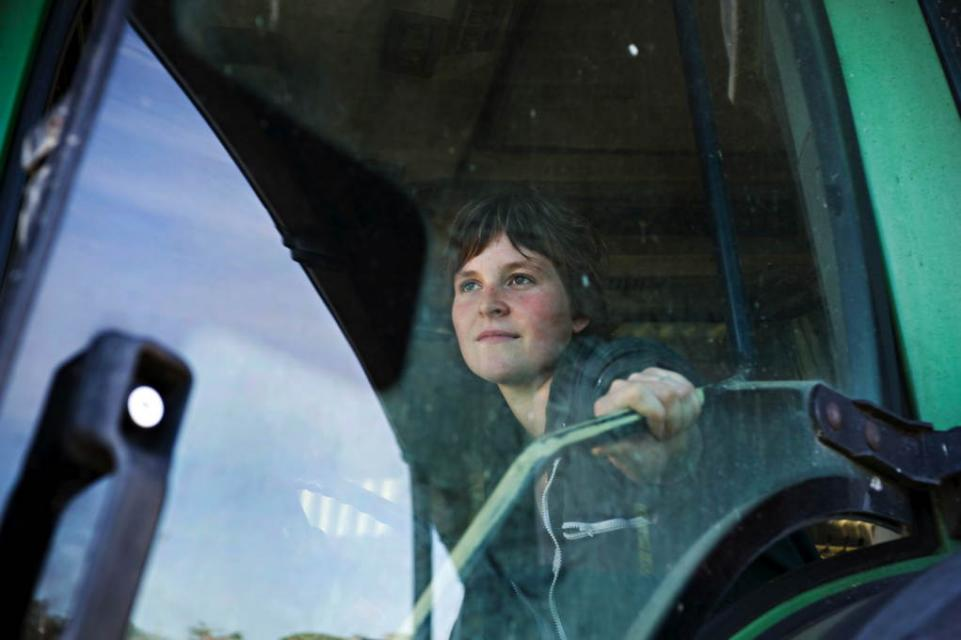 Le métier d'agricultrice //©Marie-Dieterlé pour l'Etudiant