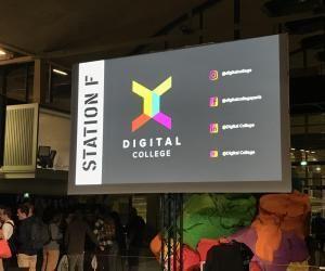 Presque 500 étudiants pour cette grande soirée de rentrée de Digital College. Et pourquoi pas 1.000 l'année prochaine ?