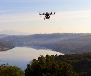 Les drones permettent de faire de belles captures pour l'audiovisuel.
