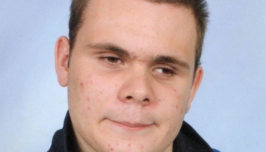 Kévin Girard, 20 ans, a joué son propre rôle d'étudiant malvoyant dans une vidéo à destination des jeunes handicapés. //©Photo fournie par le témoin