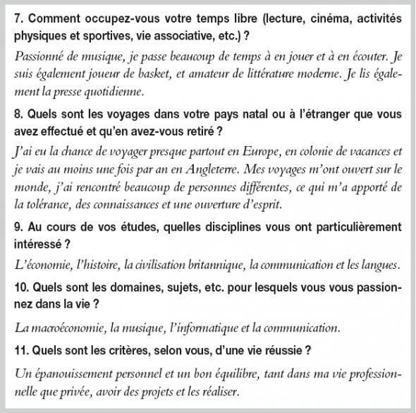 Le Dossier D Un Etudiant En Anglais Pour Integrer Un Dut Tc En