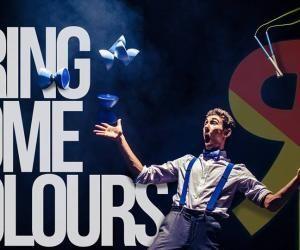 Jérôme Coquelle, étudiant à l'EM Strasbourg, est un jeune talent des arts du cirque.