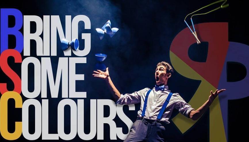 Jérôme Coquelle, étudiant à l'EM Strasbourg, est un jeune talent des arts du cirque. //©Tom Chevé
